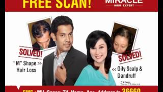 Miracle Hair Expert ( MHE ) FREE Advanced Hair Scalp Scanning !*