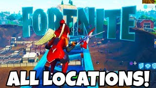 "Fortnite: ""Search F-O-R-T-N-I-T-E Letters"" ALL LOCATIONS! Week 1 Battle Pass Challenge Guide"