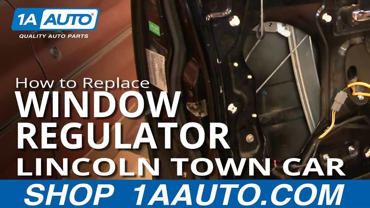 How To Replace Install Power Window Regulator Without