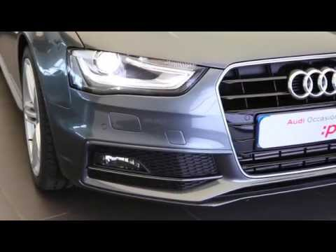 audi a4 avant occasion 2 0 tdi 150 s line gris daytona youtube. Black Bedroom Furniture Sets. Home Design Ideas