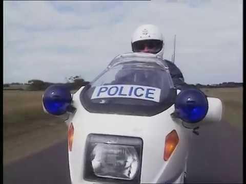 1989 Victoria Police BMW K100TIC motorcycle ride along