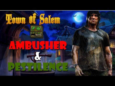 Ambusher & Pestilence | The Coven Gameplay Video | Town of Salem