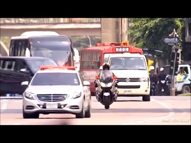 King Rama 9 Motorcade @ 2015