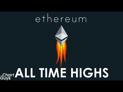 Bitcoin Ethereum Litecoin Ripple Technical Analysis Chart 1/3/2018 by ChartGuys.com