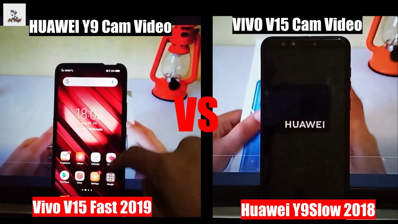 SpeedTest - VIVO V15✔️VS HUAWEI Y9❎ (speed)