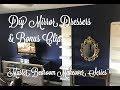 DIY Mirror Dressers(gold) & Bonus Chips