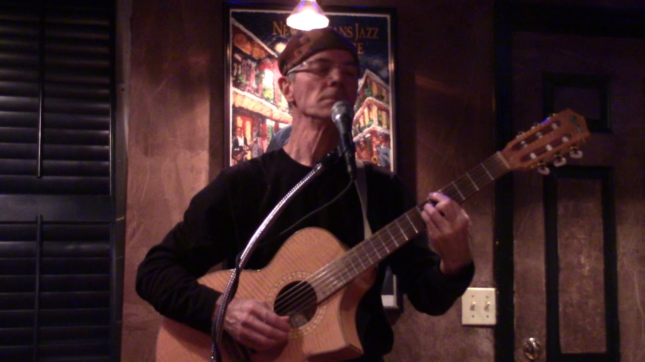 Pete Queal performs 'Somony' accompanied by Curt Landes.