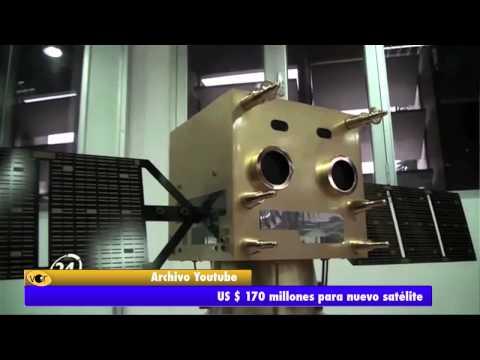 Nuevo satélite costará US$170 millones