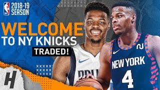 Dennis Smith Jr. BEST Highlights for the Mavericks 2017-19! Welcome to New York Knicks!