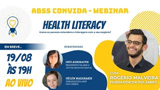 ABSS Convida Ep1 - HEALTH LITERACY (Letramento em Saúde)