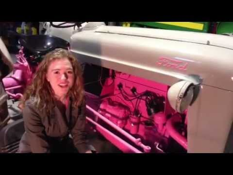 How to Install a Distributor in Time in your Tractor  YouTube
