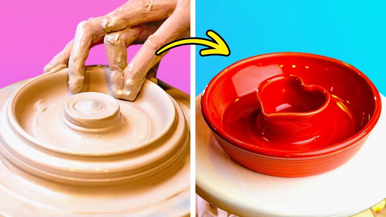 Fantastic Clay Pottery Crafts And Decor DIYs Out Of Clay