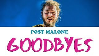 Baixar Goodbyes - Post Malone | Karaoke, Instrumental with lyrics (ft. Young Thug)