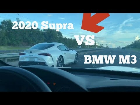 E90 M3 takes on a 2020 Toyota Supra, Coyote Mustang, & More!