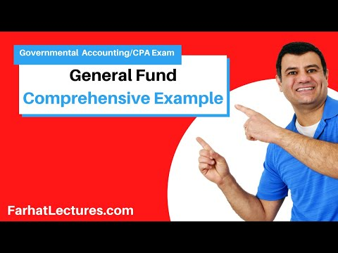Comprehensive Example: General Fund | Governmental Accounting | CPA Exam FAR