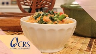 West African Peanut Stew From Niger | Crs Rice Bowl's Global Kitchen