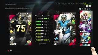 We Got 99 Super Bowl Legend Mean Joe Greene! ::-XBOX ONE Madden 16 Ultimate Team