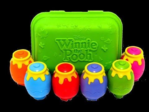 Disney Baby Winnie the Pooh Hide N Shake Hunny Pots for Babies & Toddlers - itsplaytime612