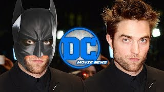 DC Movie News: Robert Pattinson Approved by WB for The Batman, Ava DuVerynay's New Gods,