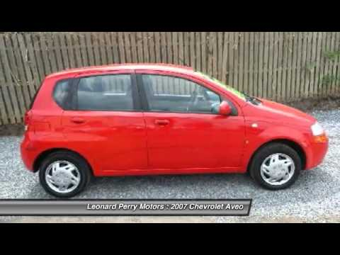 2007 chevrolet aveo aveo5 ls 5 4dr hatchback point