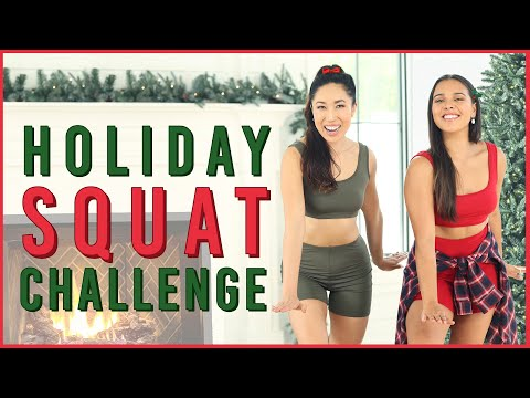Holiday Squat Challenge  All I Want For Christmas Is You
