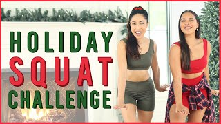 Holiday Squat Challenge | All I Want For Christmas Is You