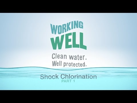 Shock Chlorination For Your Water Well (Part 1)