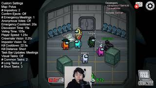 """Modded Among Us"" Full Stream 