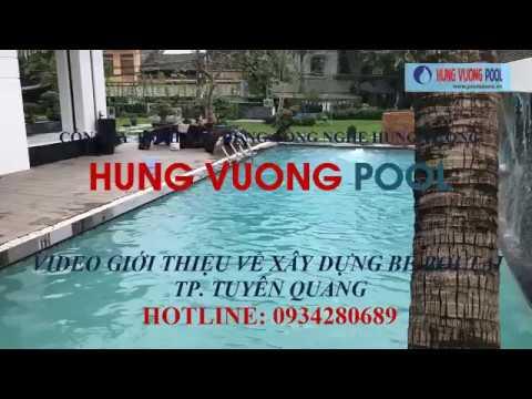 Thiết Bi Bể Bơi Biệt Thự tại Tuyên Quang