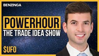 $UFO ETF | Power Hour | Stock Market Live 🚨
