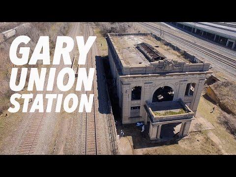 ABANDONED Union Station (Gary, IN Urban Exploration)