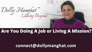 Dolly Manghat Looking Beyond Book - The Key To Developing Purity of Intent
