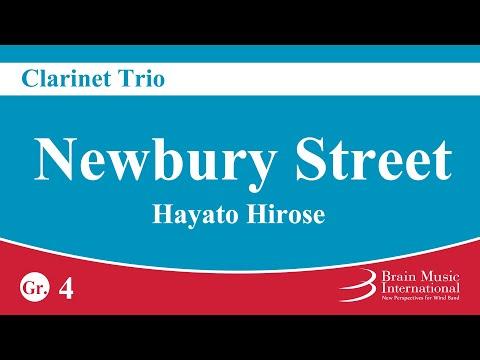 [Clarinet Trio] Newbury Street - Hayato Hirose