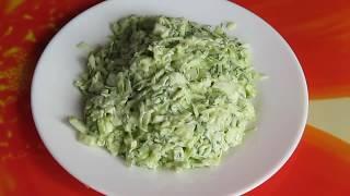 Как приготовить салат из капусты. Салат из свежей капусты - рецепт с майонезом