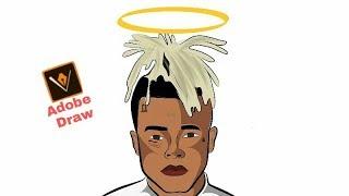 Karikatür l XXXtentacion Adobe Draw l