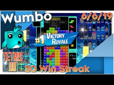 Tetris 99 - 30 Win Streak - 1985 Total Wins