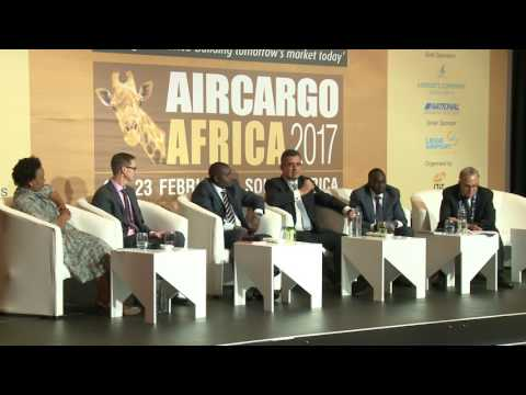 Panel discussion 2 at Air Cargo Africa 2017