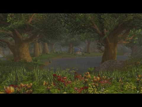 Sweet Dreams from Elwynn Forest, Rainfall & Thunder, Relaxing Music, WoW Weather