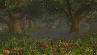Rainfall & Thunder,  Sweet Dreams from Elwynn Forest (Relaxing Music) WoW Weather