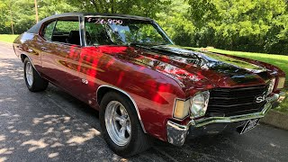 """SOLD"" 1972 Chevelle $26,900 Maple Motors"