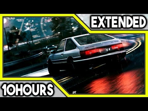 Initial D - heartbeat (10 Hours) Music Extended