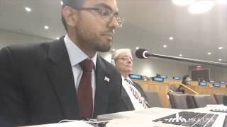 Ahmadiyya Muslim Youth Association at United Nations