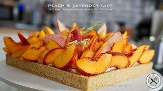 Peach & Lavender Tart – Bruno Albouze –THE REAL DEAL