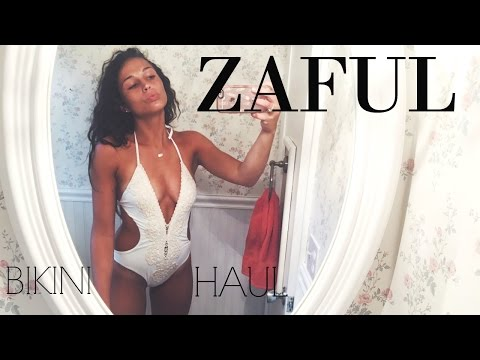 Zaful Try-On Bikini Haul - VERY AFFORDABLE
