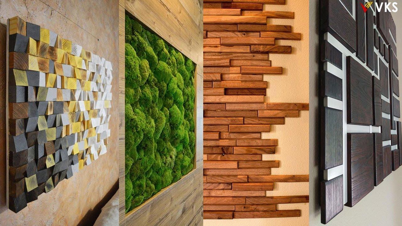 Wall Decor Design Ideas Living Room Wooden Wall Interior Design Home Wall Decor Ideas Youtube