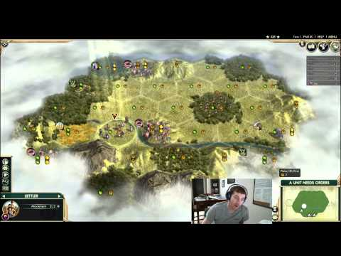 Civilization 5 - Settling Your Capital