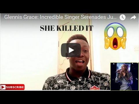 Glennis Grace: Incredible Singer Serenades Judges With Run Snow Patrol  KLINT REACTS