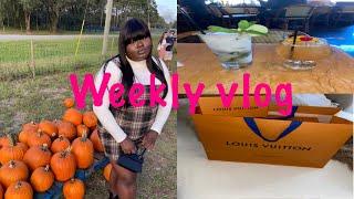 Weekly Vlog | Luxury shopping + pumpkin patch + friend date & More | Iamchelsiejanea