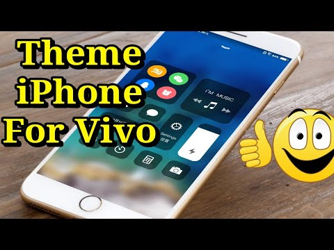 Tema ios untuk vivo itz / Theme ios for vivo