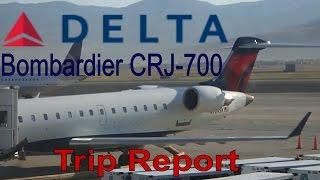 [CRJ-700!!] Delta Flight DL4627 from Calgary to SLC | Always Flying